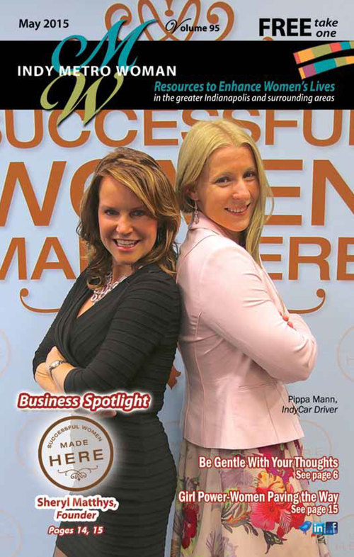 May 2015 Cover - Sheryl Matthys and Pippa Mann